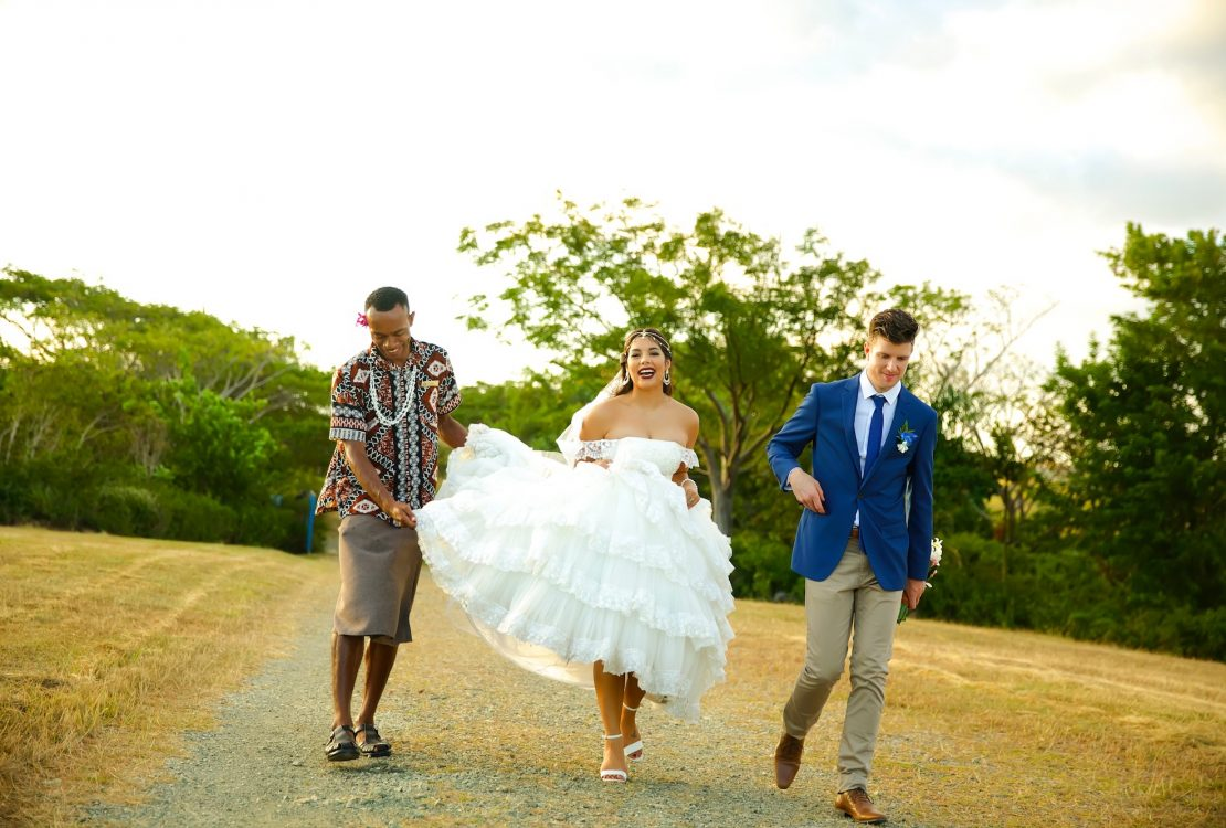 Jade & Jackson: Outrigger Fiji Beach Resort