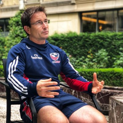 Mike Friday, Head Coach   USA Rugby